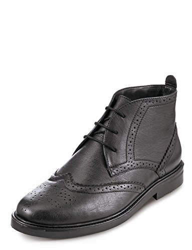 Chums Jake Brogue Boot 3 Oesen Schwarz