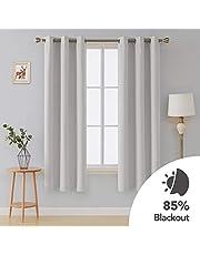 Deconovo Grommet Blackout Curtains 2 Panel 42 inch