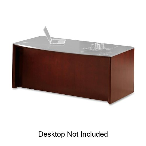 - MLNCDBCRY - Mayline Corsica Series Bow Front Desk Base