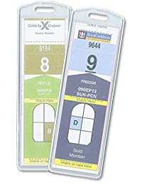 Cruisetags, NARROW Cruise Ship Luggage Tags (8 Pack)