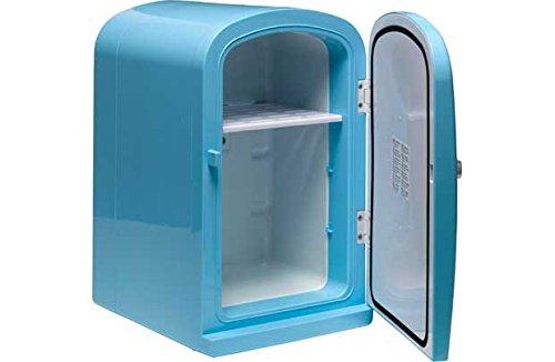 6 Litre Blue Mini Travel Fridge. Unbranded