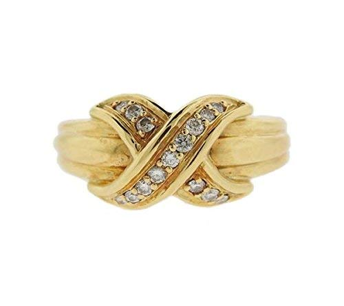 c509f11d5 Image Unavailable. Image not available for. Color: Authentic 18K Yellow  Gold Tiffany & Co.