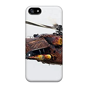 Excellent Iphone 5/5s Case Tpu Cover Back Skin Protector Mil Mi 2 716