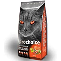 Pro Choice Pro 33 Adult Salmon Shrimp Somonlu ve Karidesli Kısırlaştırılmış Kedi Maması 2kg