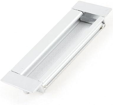 DealMux rectangular Flush empotrada tira de la manija de puerta corrediza 4.3 x 1.5: Amazon.es: Bricolaje y herramientas