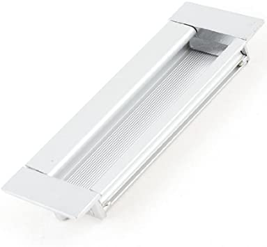 DealMux rectangular Flush empotrada tira de la manija de puerta ...