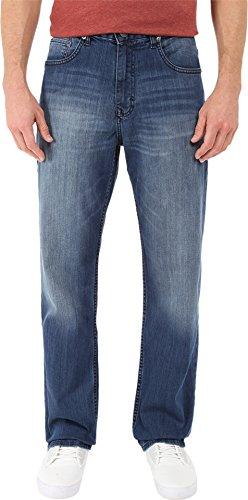 Calvin Klein Jeans Men's Relaxed Straight Leg Jean, Cove, (Relaxed Straight Leg Jeans)
