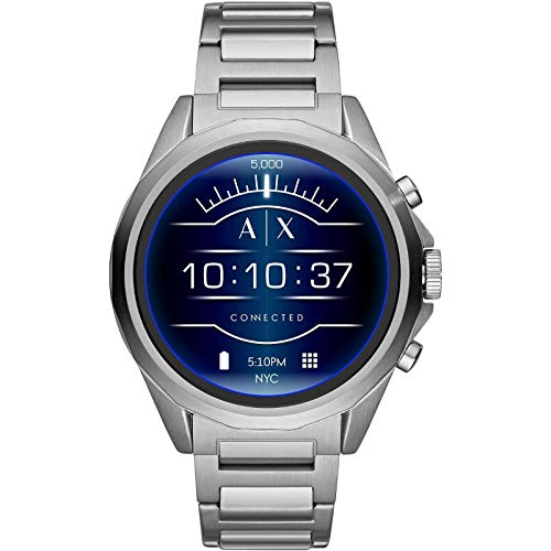 Armani Exchange Connected Smartwatch with Wear OS by Google and Heart Rate Tracking, GPS, Google Pay and Smartphone…