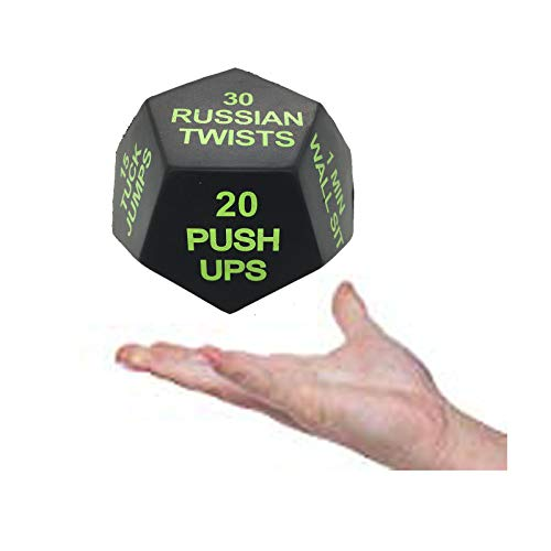 Series 8 Fitness Exercise Dice 3rd Edition Difficult (Polyurethane)