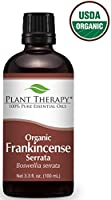 Plant Therapy USDA Certified Organic Frankincense Serrata Essential Oil. 100% Pure, Undiluted, Therapeutic Grade.