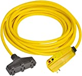 Tower - GFCI Cords & Power Distribution Centers, Mount Type: Right Angle, Number of Outlets: 3 (3 Pack)
