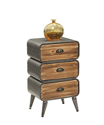 4D Concepts Urban Loft 3 Rounded Drawer Chest by 4D Concepts