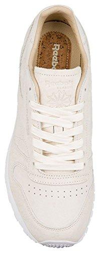 Classic White Classic Fashion White Paperwhite White Leather LST Paperwhite Reebok CL Sneakers Men's 1ZYvUqv