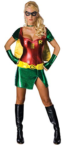 Secret Wishes Batman Sexy Robin Costume, Green, XS (2/4) -