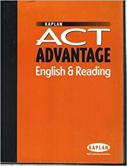 Kaplan act advantage english reading includes practice tests kaplan act advantage english reading includes practice tests kaplan amazon books fandeluxe Images