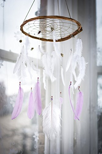 large-lilac-and-white-dream-catcher-mobile-12-30cm-diameter-white-dreamcatcher-mobile-bohemian-dream