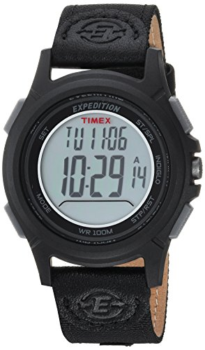 Timex Expedition Baseline Digital Chrono Alarm Timer 41mm Watch