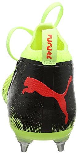 Puma Herren Future 18.2 Netfit Mx Sg Fußballschuhe Gelb (frizzante Giallo-rosso Blast-puma Nero)