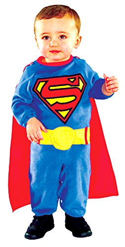 Baby-Toddler-Costume Superman Toddler Costume 1T-2T Halloween Costume (Superman Infant And Toddler Costume)