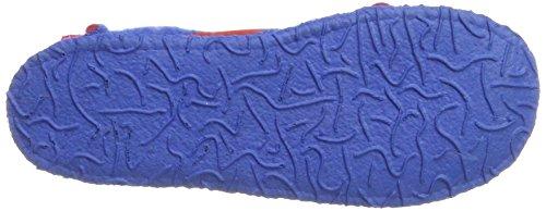 Nanga Unisex-Erwachsene Berg Hausschuhe Blau (Blau Rot)