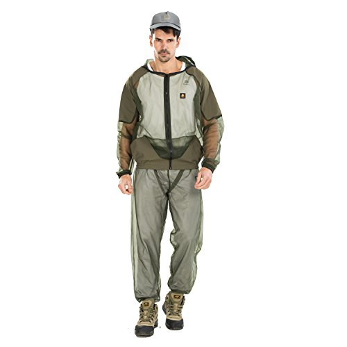 Ultrafun Anti Mosquito Mesh Suit Bug Jacket Pants Insect ...