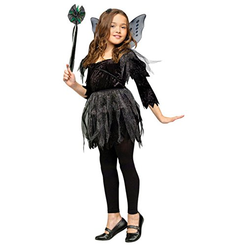 Child Fairy Costume - Midnight Fairy - Small (4-6) by Fun World