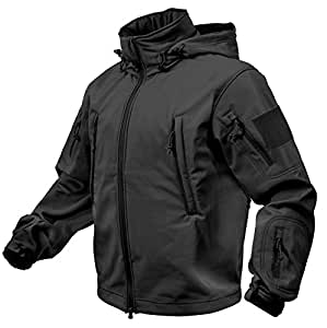 Rothco Special Ops Softshell Jacket, Black, 4X-Large