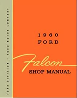 1960 COMPLETE FORD FALCON FACTORY REPAIR SHOP & SERVICE MANUAL - All Models