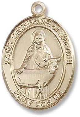 14ktゴールドセントキャサリンスウェーデンのメダル