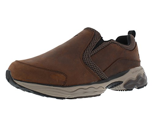 Spira Taurus Mens Slip Resistant Casual Shoes wi Brown - 12.5 (Brown Single Arch)