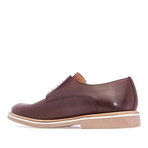 50 Cuir Made Hommes 6188 pour 47 Andres Oxford Grandes Style Spain Pointures in Chaussures Chocolat du au Machado Oq614X