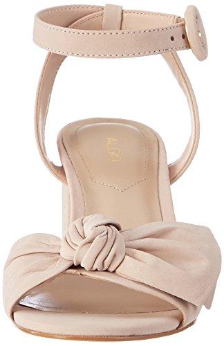 Aldo Beautie, Sandalias con Cuña para Mujer Rosa (Light Pink 55)