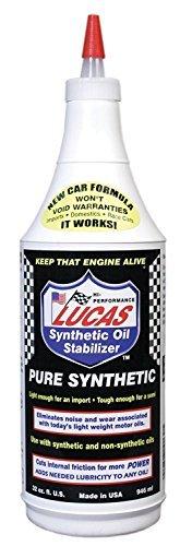 Lucas 10130 Synthetic Oil Stabilizer. Quart (Quantity 10)
