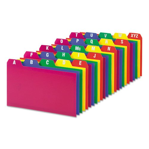 Filing Index Card Guides - 2