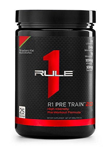 R1 Pre Train 2.0, Rule 1 Proteins (25 servings, Strawberry Kiwi)