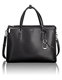 Tumi Women's Stanton Nia Commuter Brief Laptop Briefcase, Black, One Size