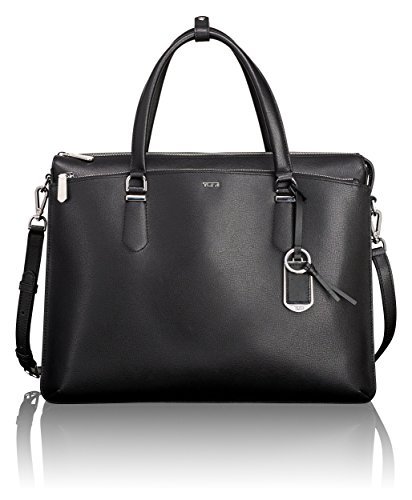 Tumi Women's Stanton Nia Commuter Brief Laptop Briefcase, Black, One (Tumi Computer Briefcase)