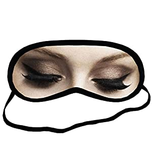 Adele EYM175 Eye Printed Travel Eye Mask Sleeping