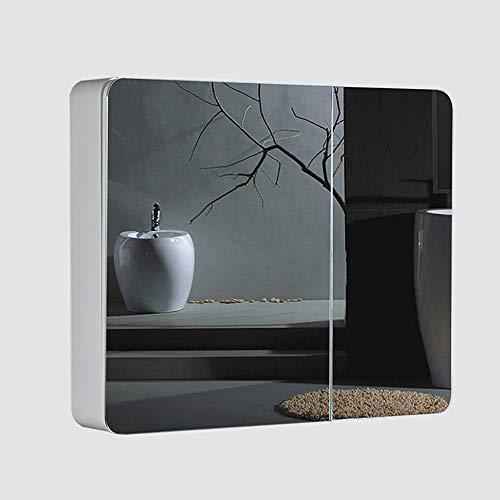 Bathroom mirror Cabinet, Waterproof Wall Mirror - Home Double Mirror Door Wall -
