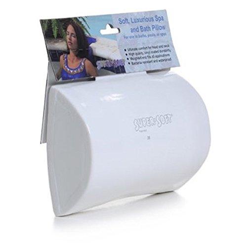 Super Soft Soft, Luxurious Spa And Bath Pillow- White 8510504 ()