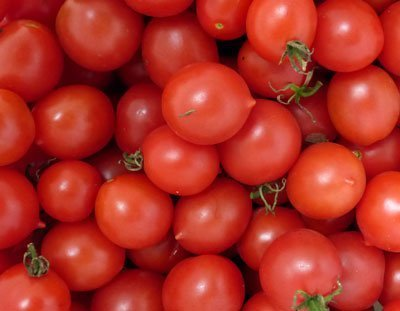 David's Garden Seeds Tomato Cherry Riesentraube DTT00615 (Red) 25 Organic Heirloom Seeds