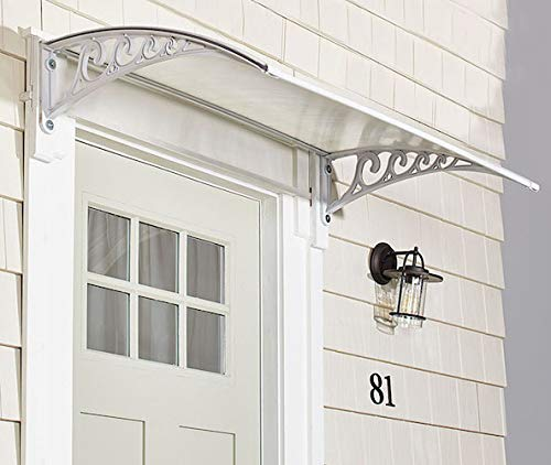 The Lakeside Collection Natural Sunlight Door Canopy - White
