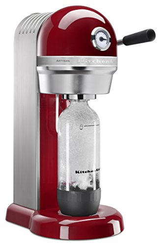 KitchenAid KSS1121ER Sparkling Beverage Maker, Empire Red ()