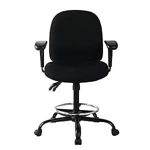 Viva office silla ergon mica de oficina con apoyabrazos for Silla ergonomica amazon