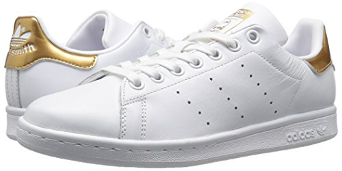 Adidas Originals Women's Stan Smith w Fashion Sneaker, White/White/Supplier Colour, 8.5 M US