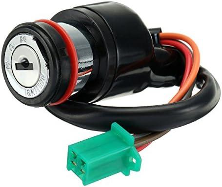 YONGYAO Lock Z/ündschalter /& Schl/üssel /& Benzin Benzin Gasdeckel F/ür Suzuki Gn125 125Cc