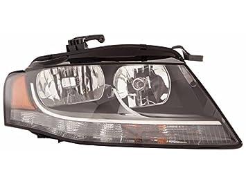 Passenger Side Headlight Audi A4 Audi A4 Quattro Audi S4