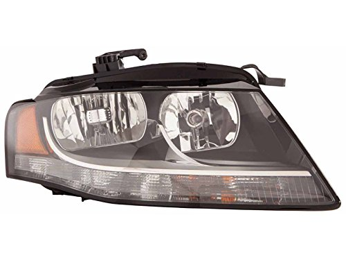 OE Replacement Audi A4/S4 Passenger Side Headlight Assembly Composite (Partslink Number AU2503149)
