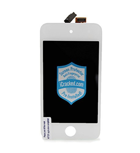 iPod Touch 4th Generation Premium Replacement Screen & Repair Kit- White