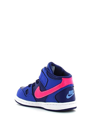Nike Kids Son Of Force Kleinkind Mädchen Mid Sneaker Stiefel Schuhe Dk Blue/Pink
